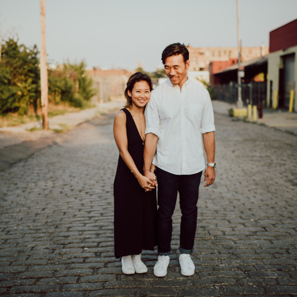 Jane & Jeff | Sky Gallery | Brooklyn Engagement Session