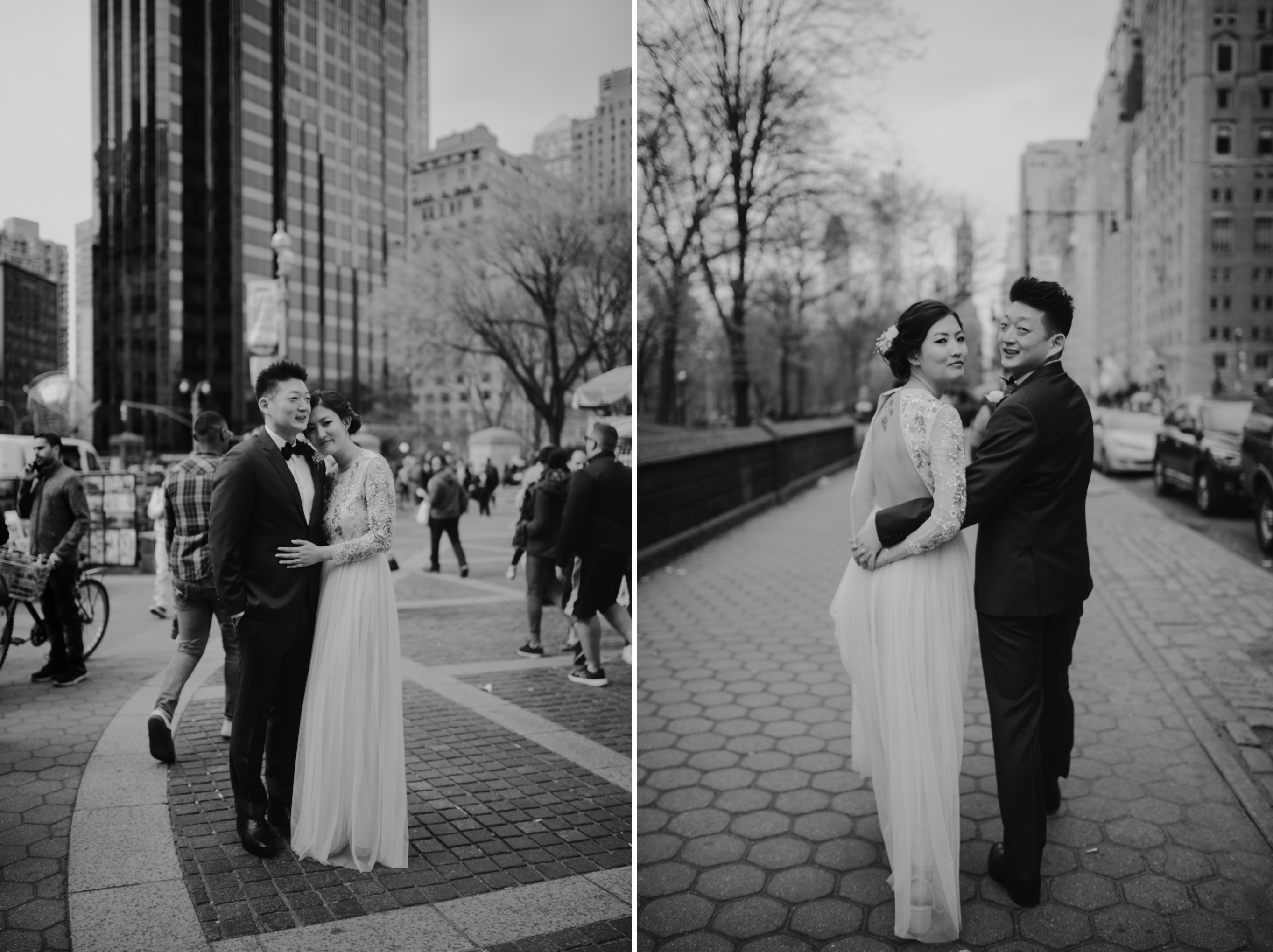 NYC bride & groom to elope at Central Park Cop Cot.