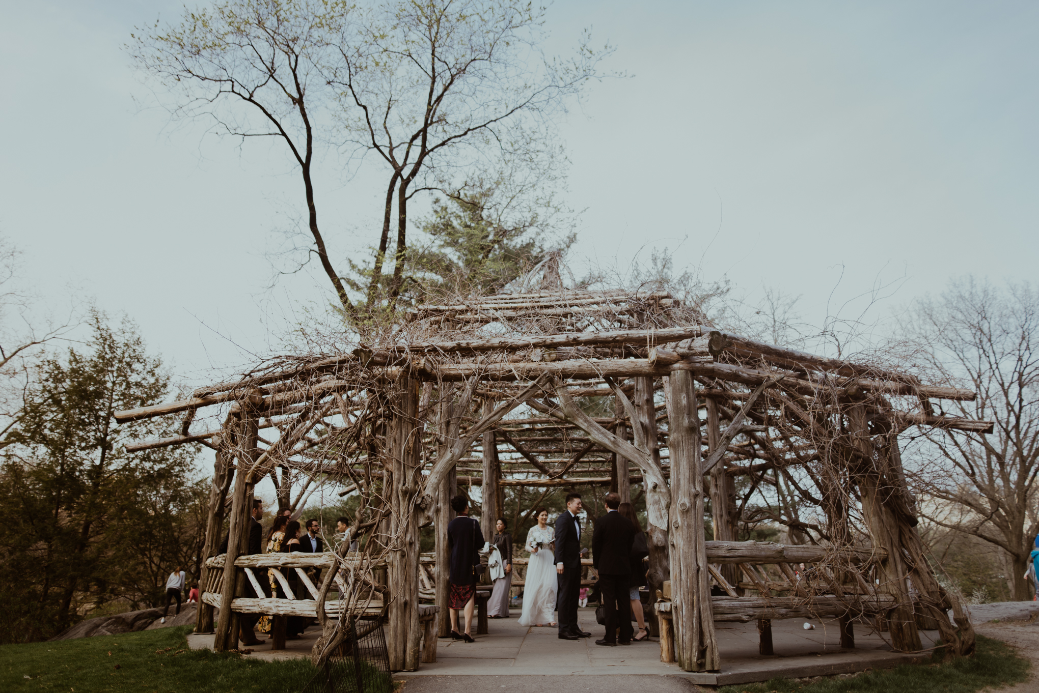 Central Park NYC Wedding at the Cop Cot in Manhattan